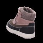 Primigi Gore-tex vízálló, bundás bakancs, nude rózsaszín-fekete, 25-27.