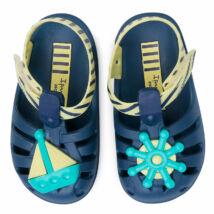 Ipanema Summer VII Baby szandál, navy-sárga, vitorlás, 24-28/29.
