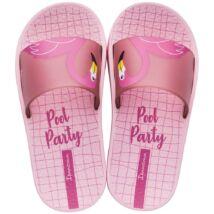 Ipanema Urban Slide Kids gyerek papucs, rózsaszín, flamingós, 27-33/34.
