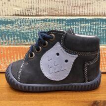 Maus első lépés cipő, sötétkék, baglyos, 17-19.