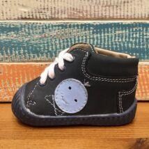Maus első lépés cipő, sötétkék, kisfiús, 17.