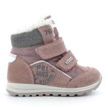 Primigi Gore-tex vízálló bundás gyerekcipő, rózsa-ezüst, 21-25.