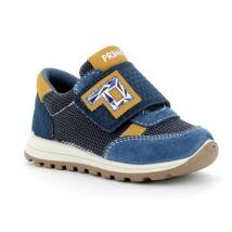 Primigi átmeneti cipő tépőzárral, kék-mustár, 21-24.