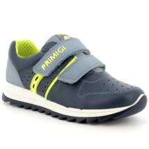 Primigi átmeneti cipő, kék-neonzöld, 30-35.