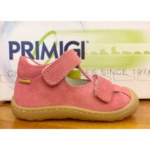 Primigi nyitott bőrcipő két tépőzárral; lazac, 21-23.
