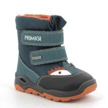 Primigi Gore-tex vízálló bundás bakancs, zöld-narancs, sárkányos, 21, 22, 23, 24.