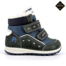 Primigi Gore-tex vízálló, bundás gyerekcipő, kék-zöld, 21-27.
