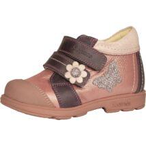 Szamos supinált átmeneti cipő bőr béléssel, rózsaszín-levendula, 25-27.