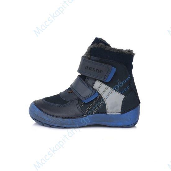 D.D.Step barefoot bundás gyerekcipő, kék, 25-30.