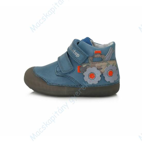 """D.D.Step """"barefoot"""" átmeneti cipő, kék, markolós, 20-25."""