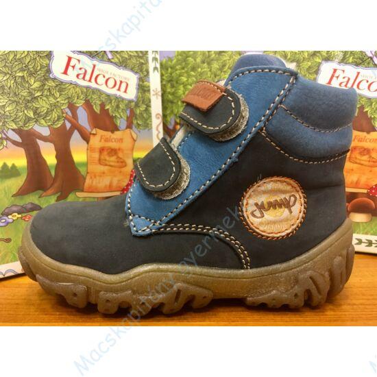 Falcon bundás gyerekcipő, kék, jump, 19-26.