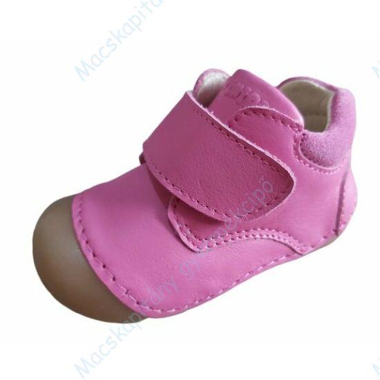 Primigi első lépés bőrcipő, pink, tépőzáras, 19-22.