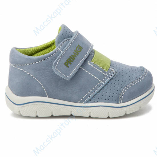 Primigi átmeneti cipő, hasított bőr; kék-zöld, 20-26.