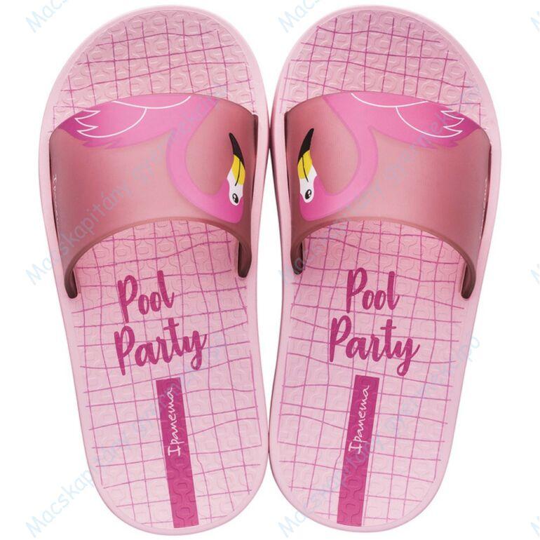 Ipanema Urban Slide Kids gyerek papucs, rózsaszín, flamingós, 25/26-33/34.
