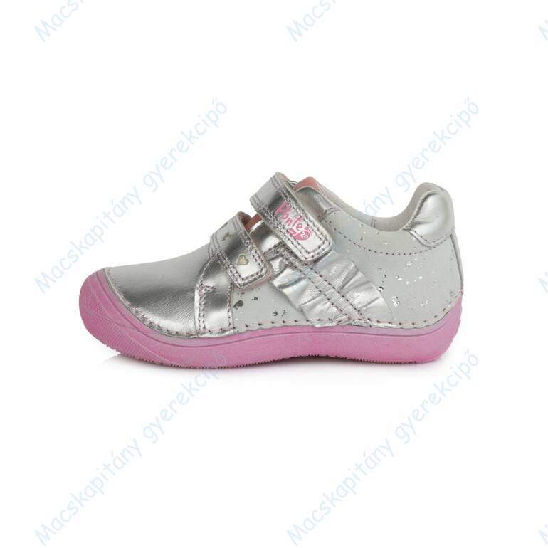 Ponte 20 átmeneti bőrcipő, ezüst-rózsaszín, 24-29.