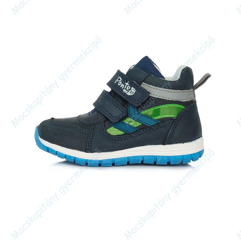 Ponte 20 supinált átmeneti cipő, sötétkék-zöld, 28, 29, 30, 31, 32, 33.