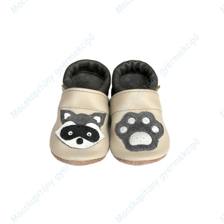 Puhatalpú bőrcipő, 3D mosómaci, 19-26.